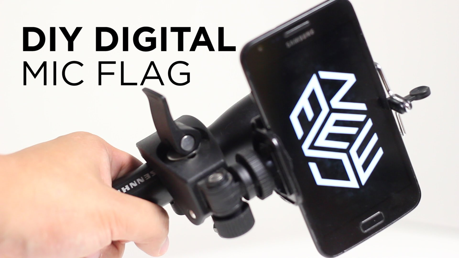 Digital mic flag