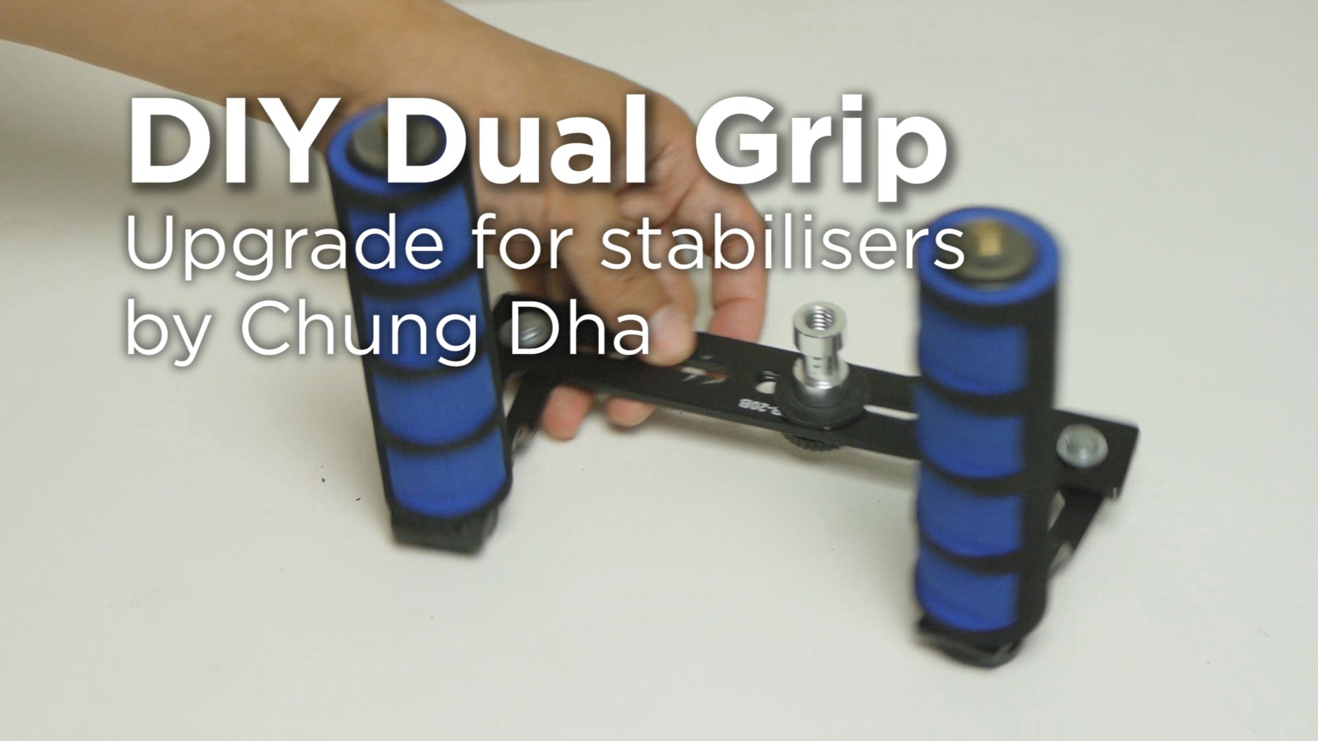 DIY Dual handle grip for stabilisers