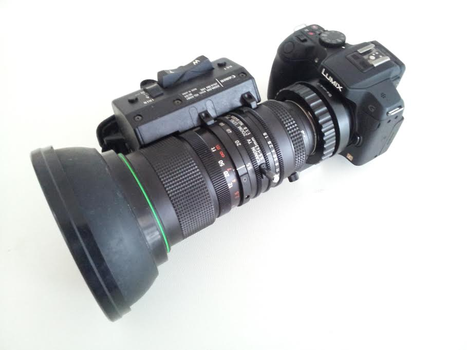 Using B4 Lenses on M4/3 and Canon DSLR   Chung Dha