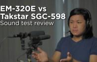 Takstar SGC-598 vs HTDZ HT-320A/EM-320E