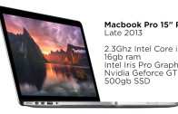 Buying late 2013 Macbook Pro 15″ in begin 2015
