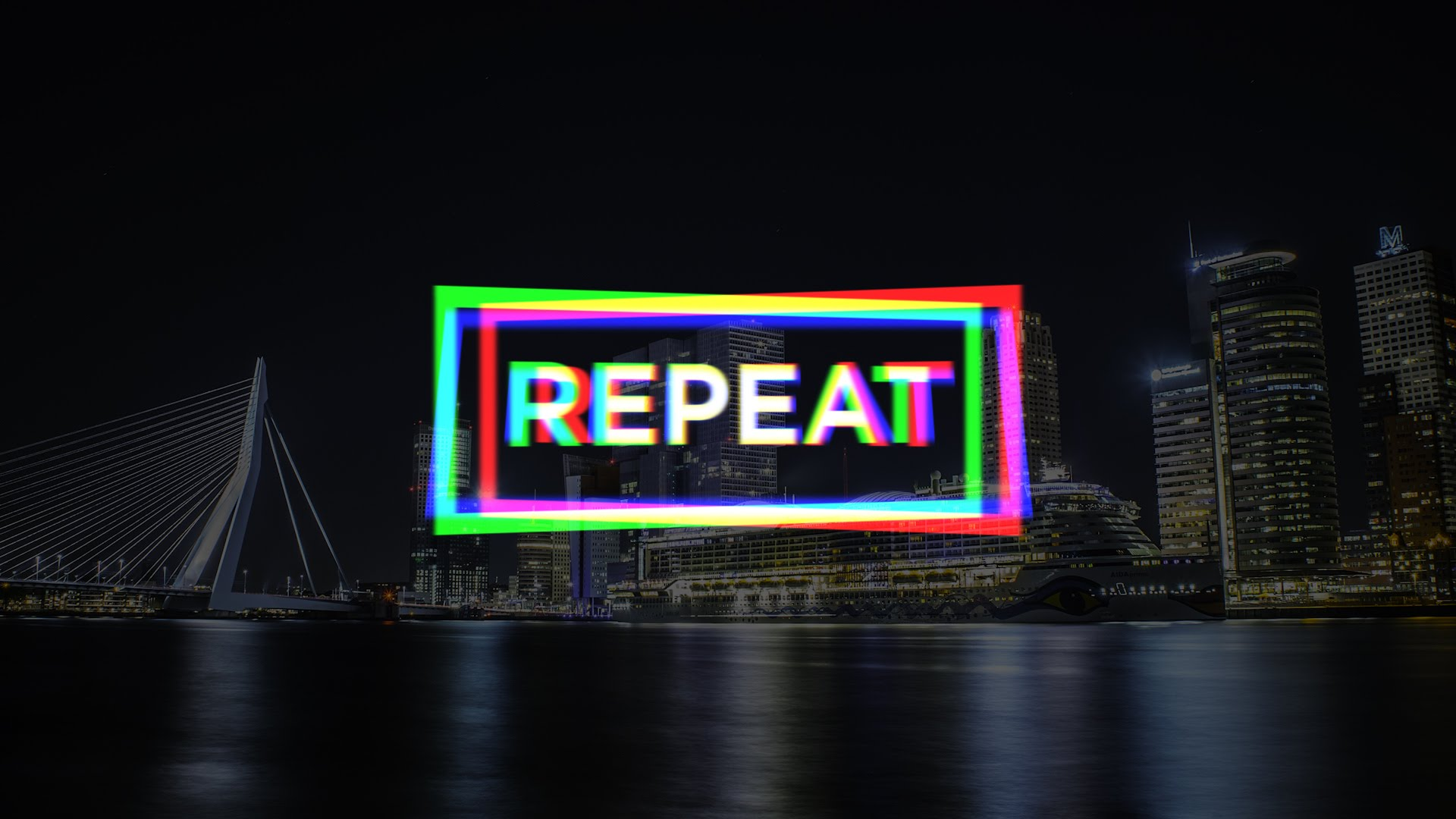RGB 3D Split Logo/Title reveal preset #adobe #premierepro #videoediting