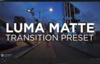 Luma Matte Transition Preset