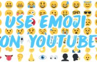 Emoji ? on Youtube ▶️ titles and text