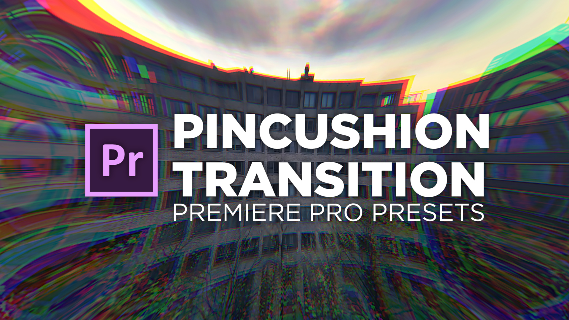 Pincushion Transition Preset #adobe #premierepro #videoediting