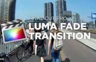 FCPX LUMA FADE Transition