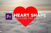 Heart shape elements for Premiere Pro