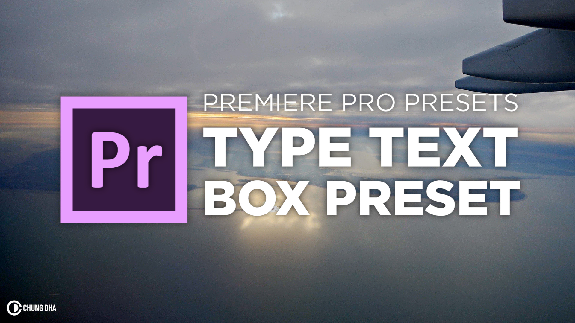 Type Text Box Preset #adobe #premierepro #videoediting