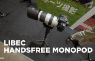 Libec HFMP Handsfree Monopod at CP+ Japan 2017