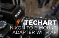 Techart lens adapter for E-Mount