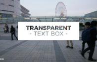 Transparent Text Box Preset for Premiere Pro