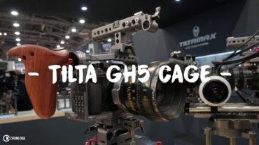 Tilta Panasonic GH5 Cage reveals at NAB Show 2017 Las Vegas