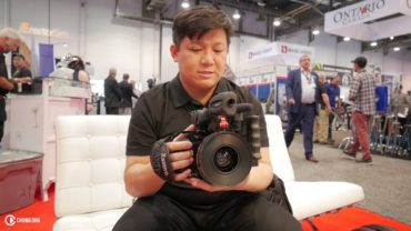 Zacuto revealed their Prototype Panasonic GH5 cage at NAB 2017