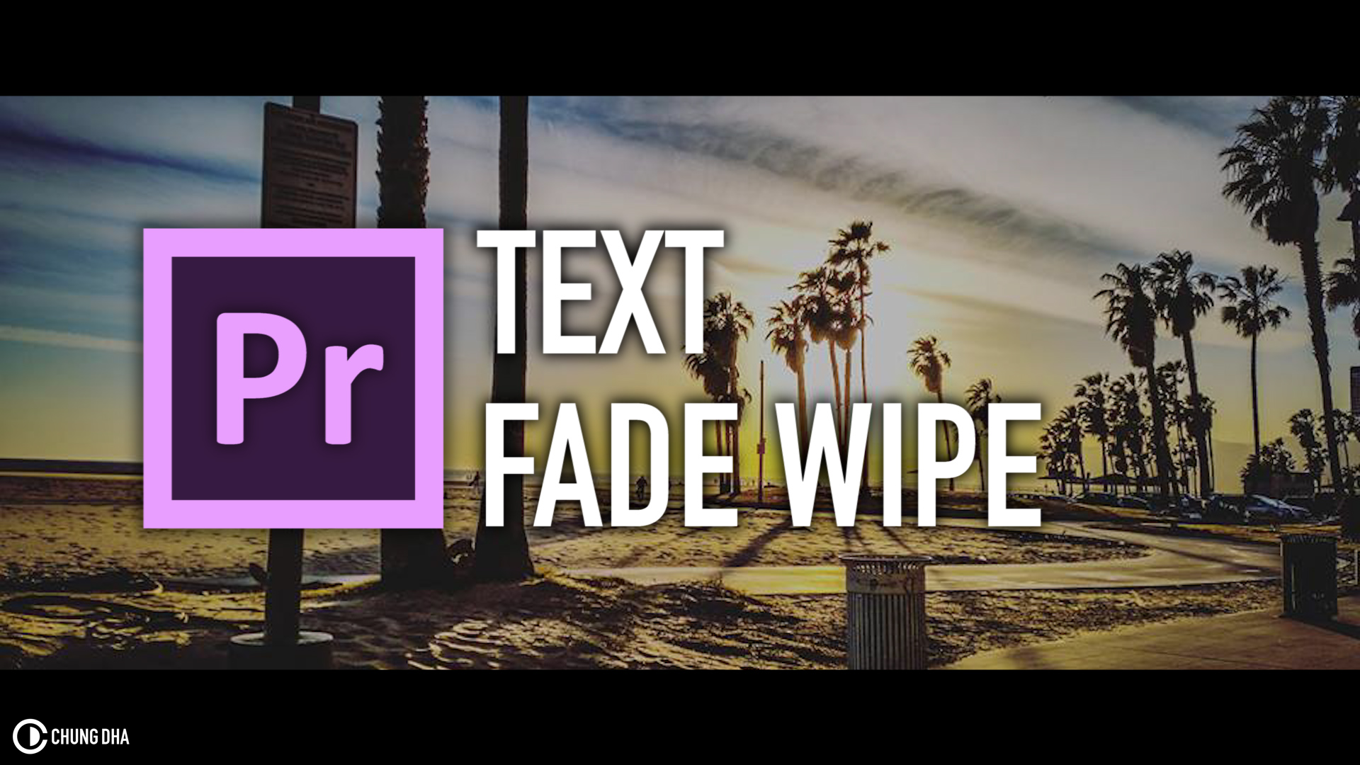Text Fade Wipe Preset #adobe #premierepro #videoediting