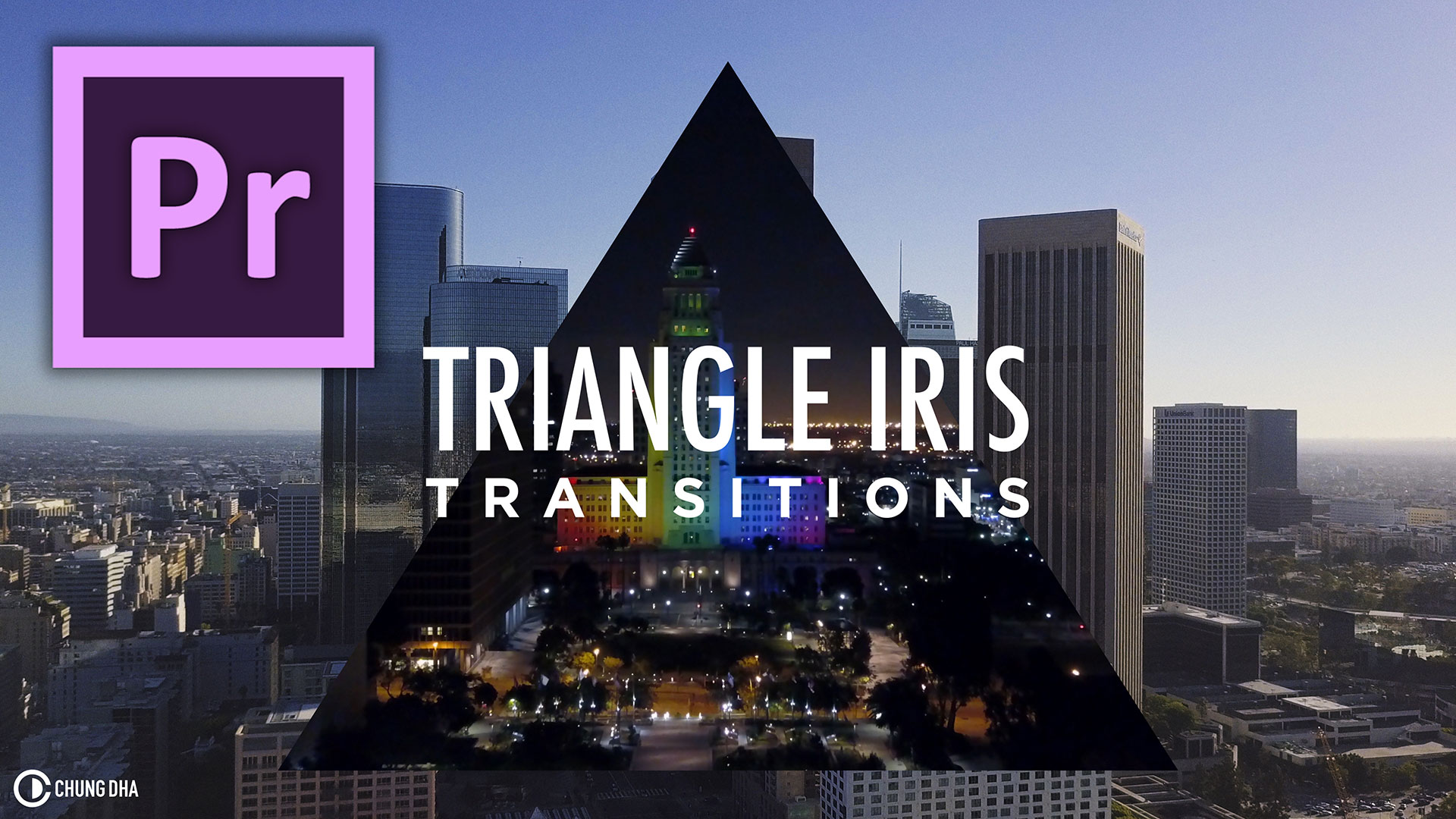 Triangle iris transition #adobe #premierepro #videoediting