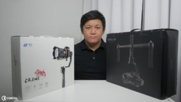 Zhiyun Crane vs Gudsen Moza Air 3 axis Gimbal