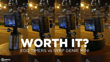 Worth it? Egg timers vs Syrp Genie Mini Panning Timelapse review