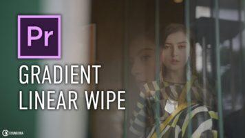 Gradient / Linear Wipe Transition #adobe #premierepro #timelinetuesday #tutorial
