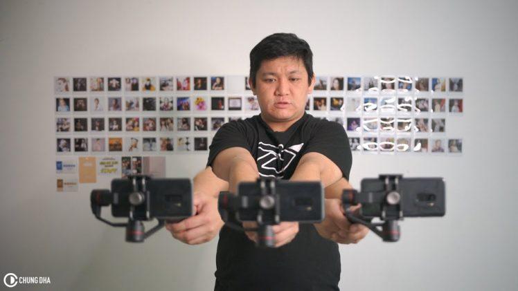 Cinematic Slider shot with a Zhiyun (Smooth 3, Crane Plus, Crane 2) Gimbal