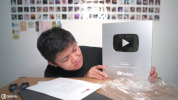 Silver Play Button 2018 unboxing