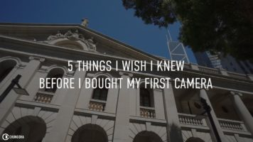 5 things I wish I knew before I bought my first camera