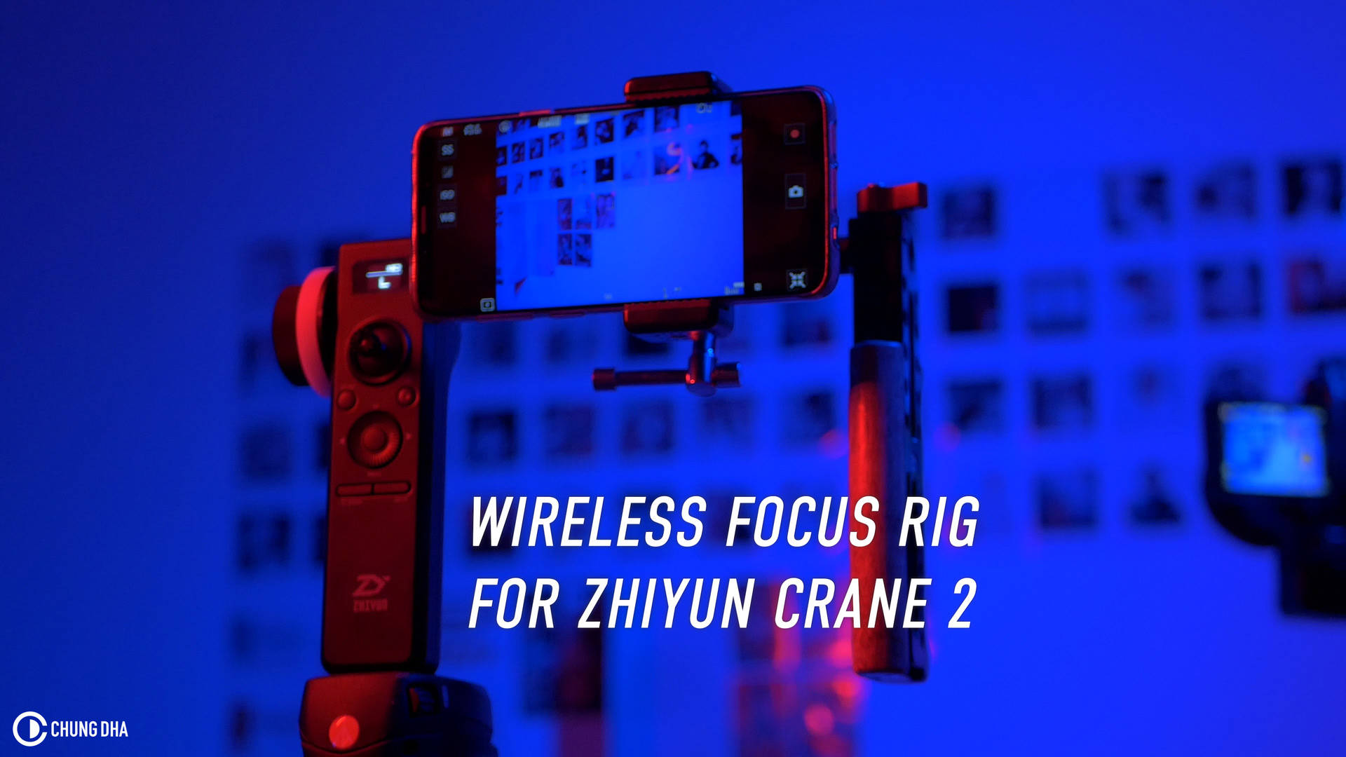 DIY Wireless Focus Rig for Zhiyun Crane 2 #zhiyuncrane2 #followfocus #diy #diymonday