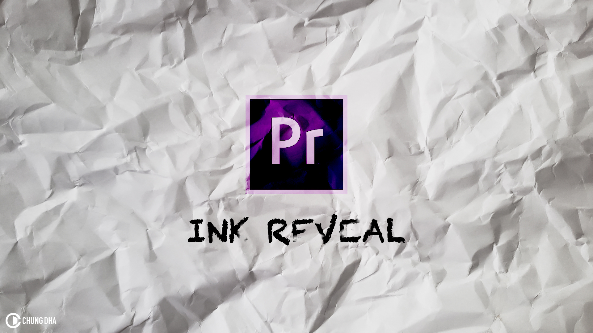 Ink Reveal #premierepro cc2018 #tutorial #timelinetuesday