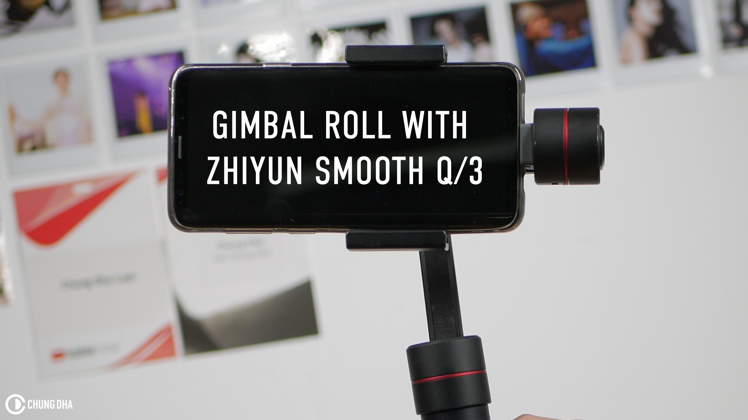 Gimbal Roll with Zhiyun Smooth Q / 3 tutorial