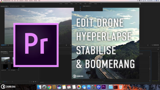 Adobe premiere pro chung dha edit drone hyperlapse stabilise boomerang 4 min quick premiere pro tutorial ccuart Image collections