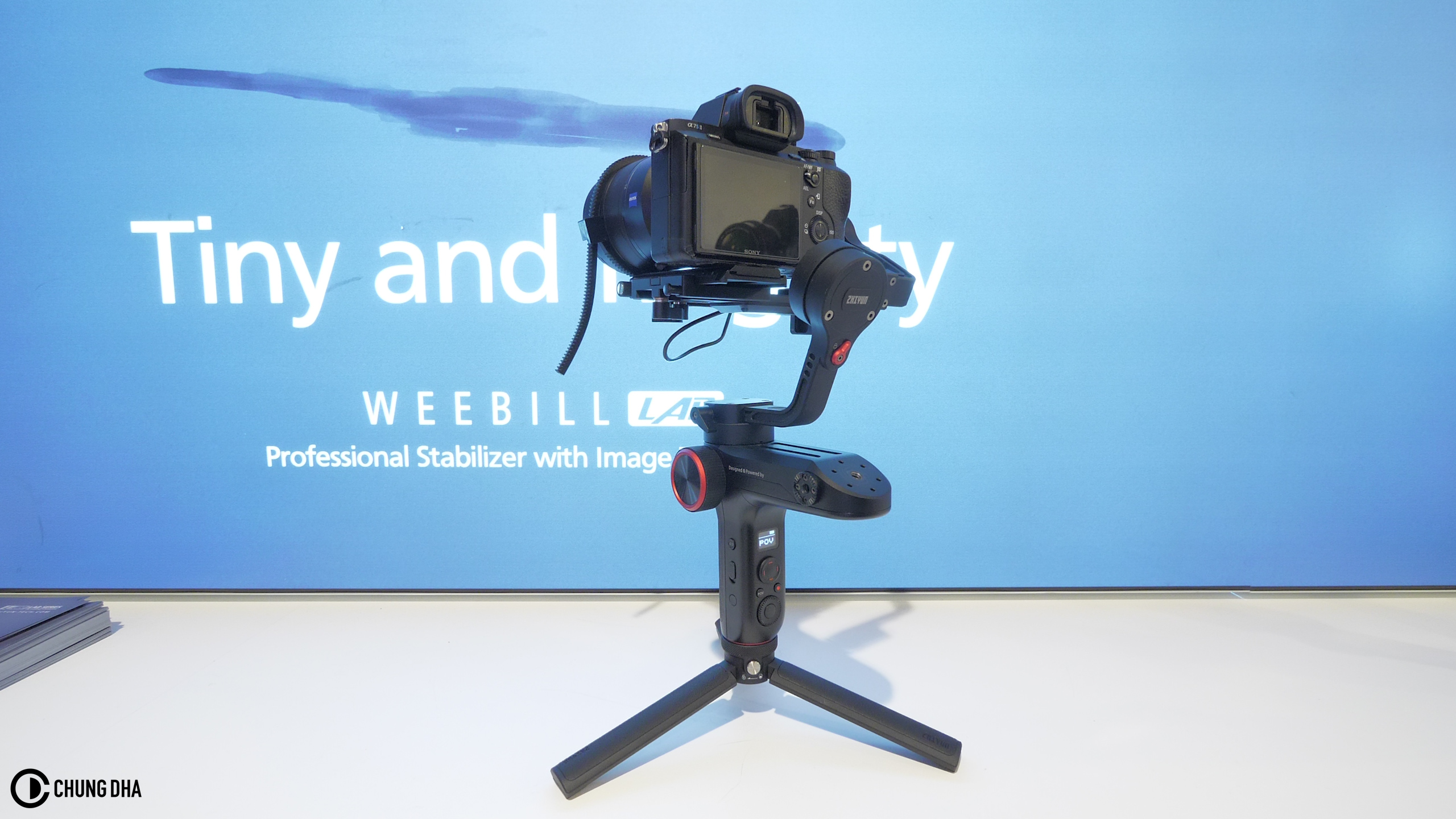 Balance the Zhiyun Weebil gimbal Tutorial