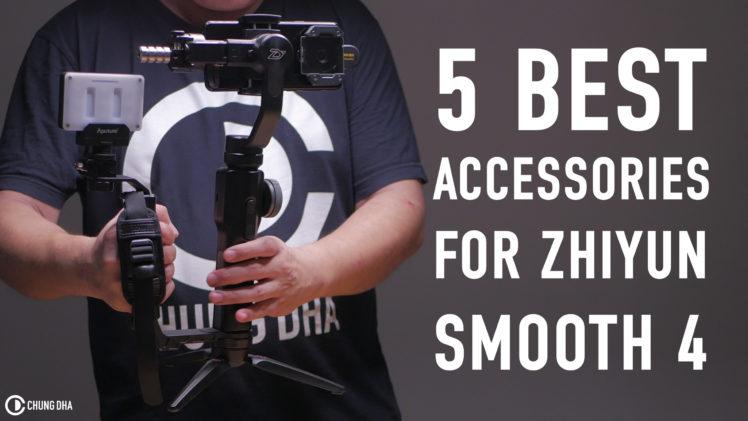 5 best accessories for Zhiyun Smooth4