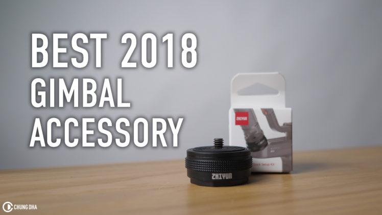 Best 2018 Gimbal Accessory!!! Zhiyun Transmount quick kit!