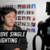Cheap ways to improve single LED Light for Vlogs