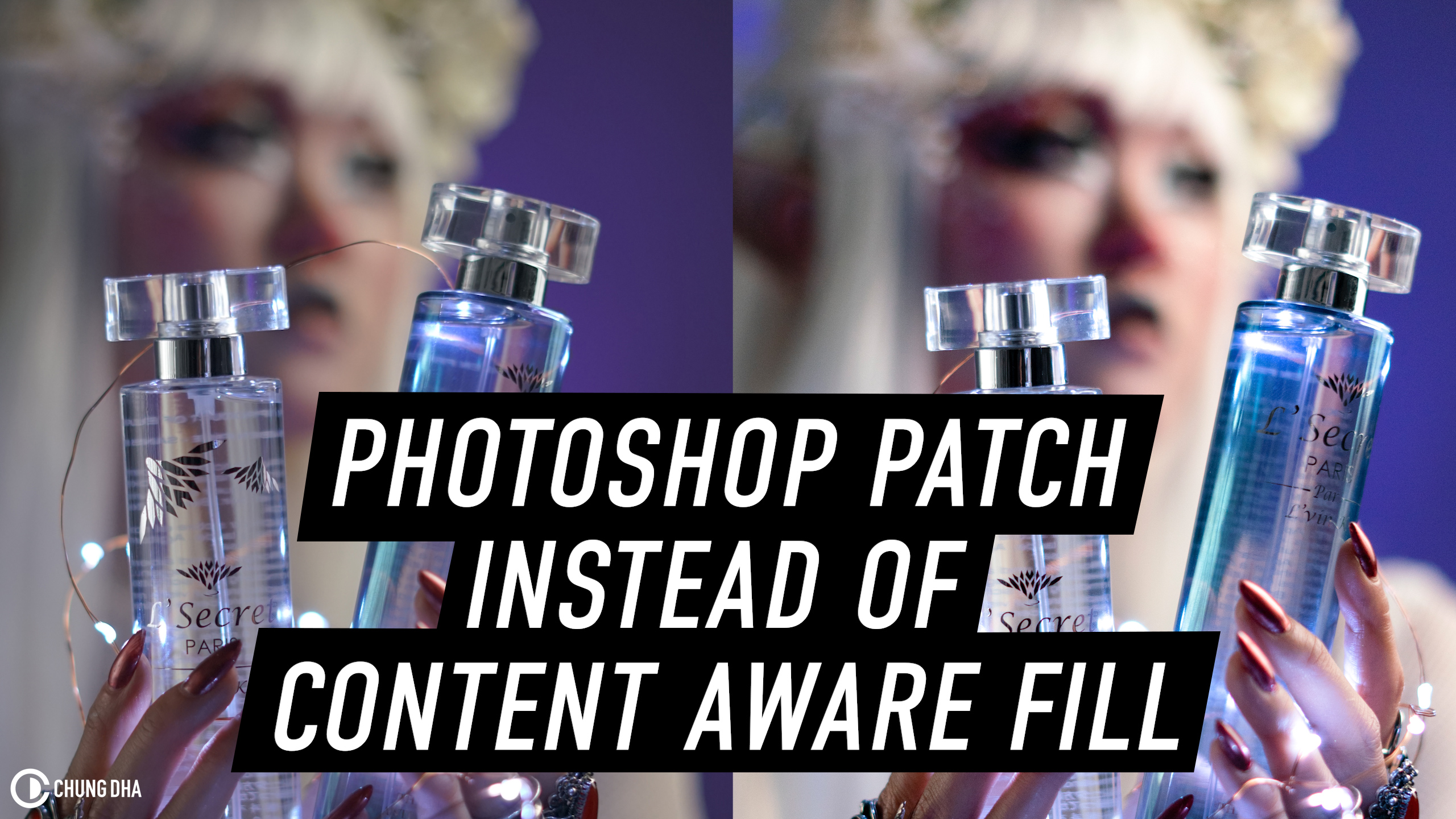 Photoshop Patch Tool instead of Content Aware Fill