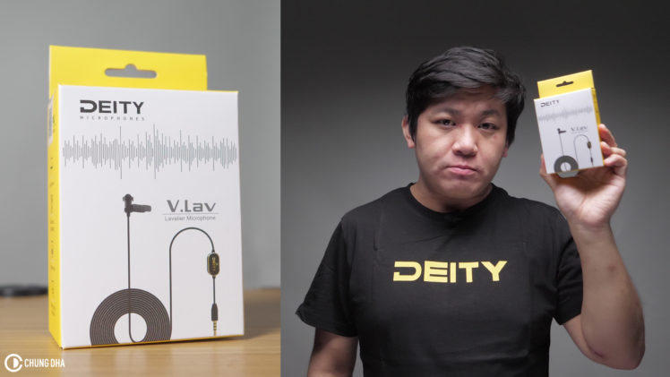 DEITY V.LAV Lavalier Microphone review // DEITY Shirt Giveaway!