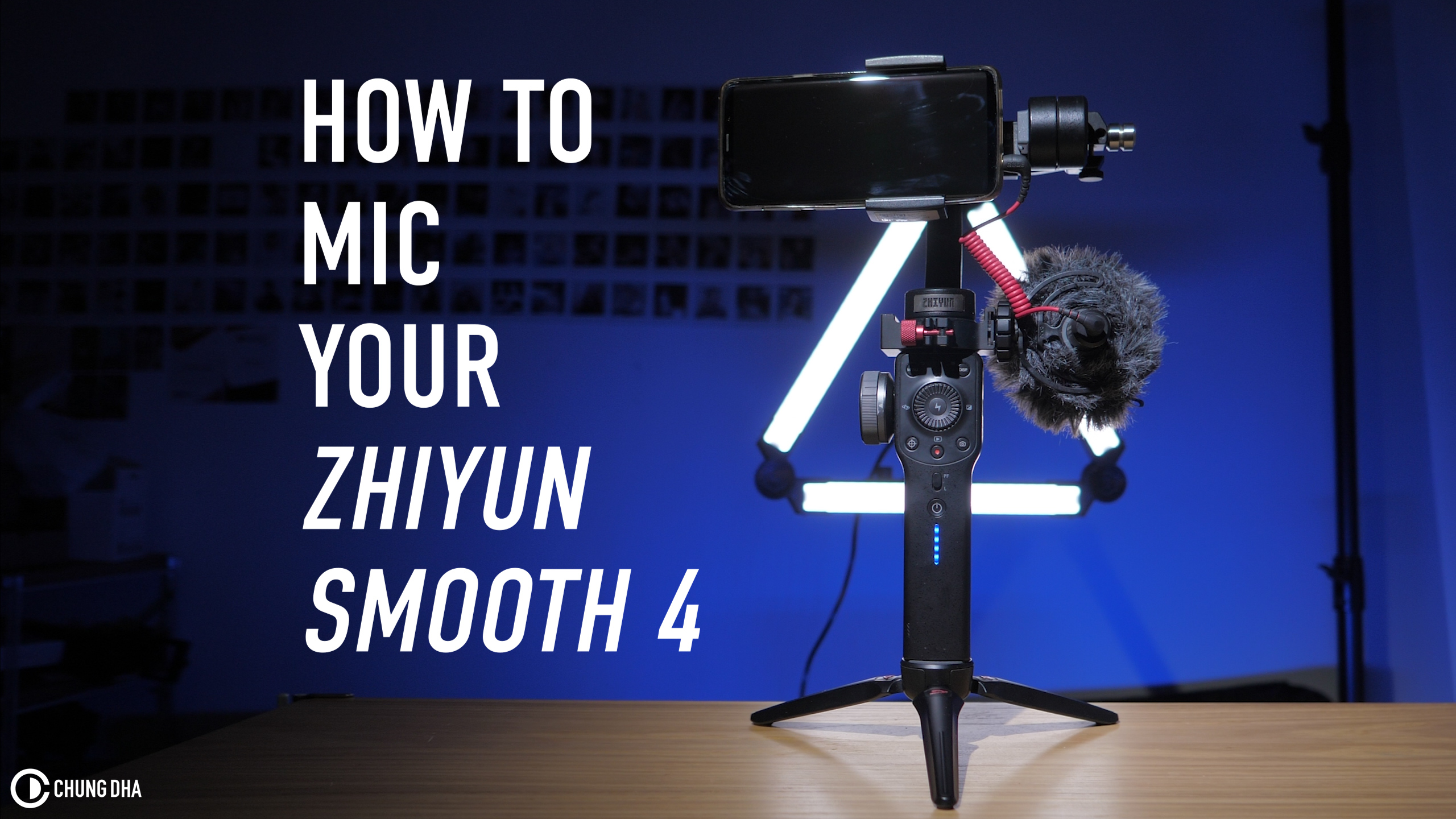 How to mic your Zhiyun Smooth 4