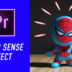 Spider-verse Spider Sense Effect
