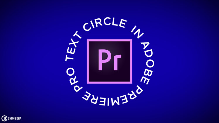 Text circle animation reveal // 5 min Adobe Premiere Pro tutorial