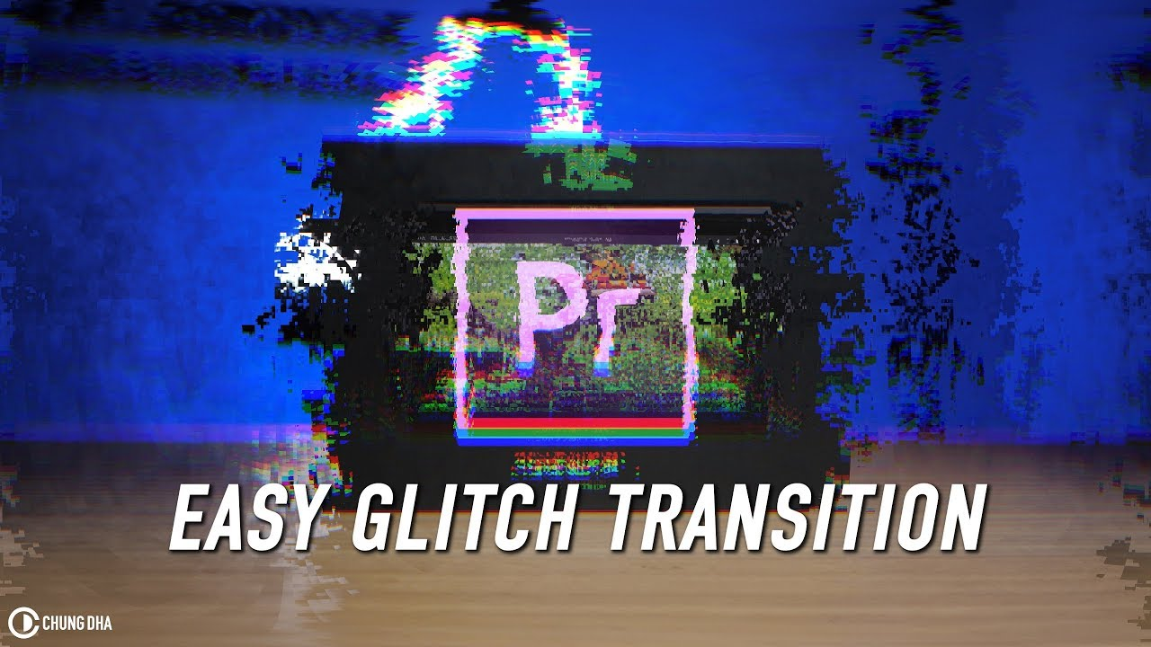 Easy Glitch Transition Premiere Pro Preset #adobe #adobepremiere #videoediting
