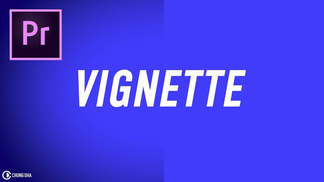 Vignette // 3min Adobe Premiere Pro CC tutorial