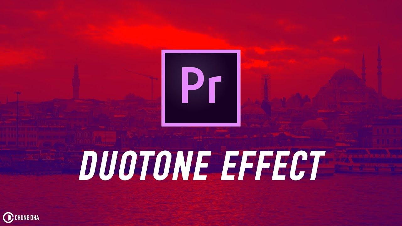 Duotone Effect Adobe Premiere Pro