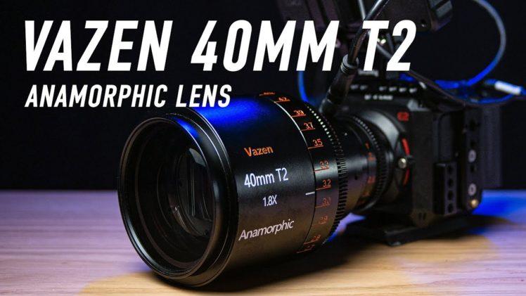 Vazen 40mm T2 1.8x Anamorphic Lens