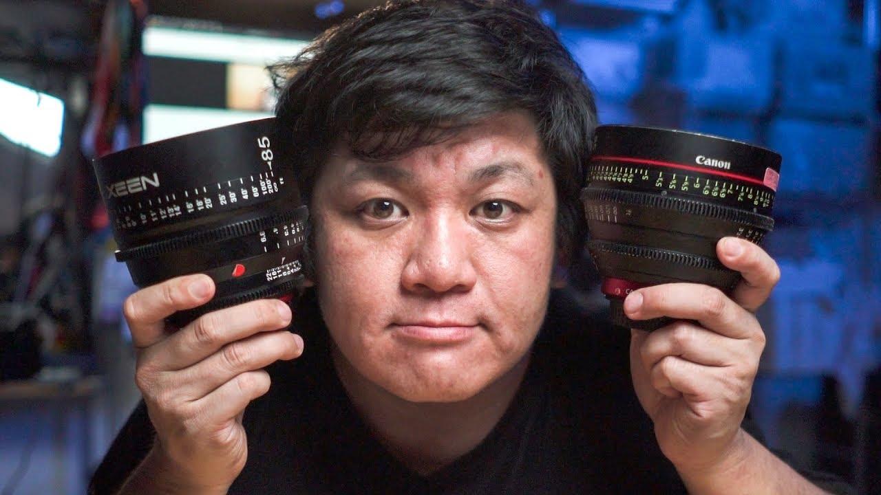 Xeen 85mm T1.5 vs Canon CN-E 85mm T1.3 lens comparison