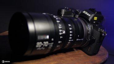 DZOFILM 20-70mm T2.9 on Nikon Z50