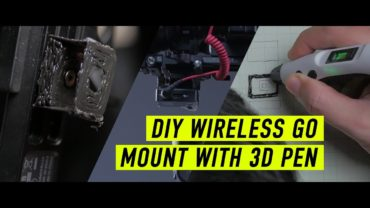 DIY Wireless Go mount for Zhiyun Weebill-S with a 3D Pen / DIY Wednesday