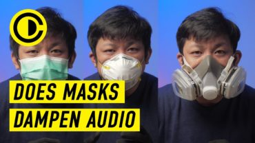 Does Masks dampen your voice while vlogging?