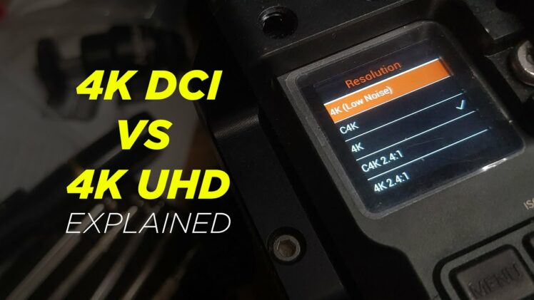 4K DCI vs 4K UHD explained