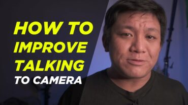 How to improve talking to camera on Youtube