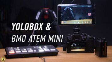 Yolobox with Blackmagic Design Atem Mini