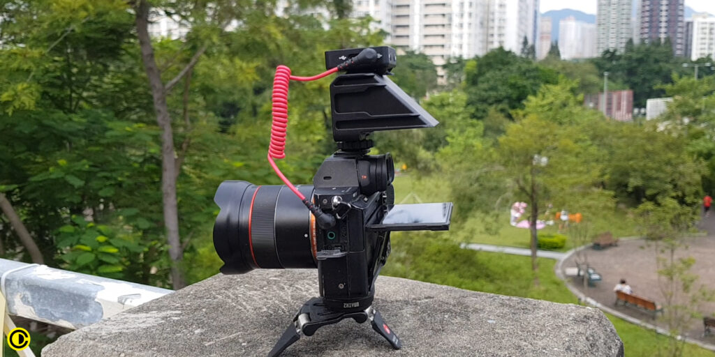 Sony A7rii with UUrig R031